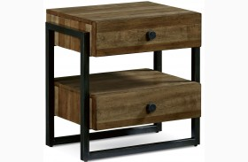 Epicenters Williamsburg 2 Drawer Nightstand