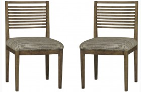 Epicenters Williamsburg Slat Back Side Chair Set of 2