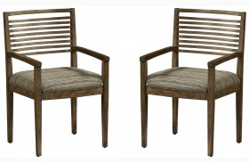 Epicenters Williamsburg Slat Back Arm Chair Set of 2