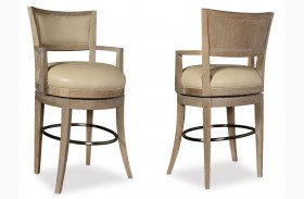 Greenpoint Sandstone High Dining Chair Set of 2