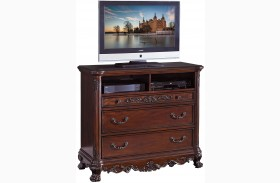 Deryn Park Cherry Tv Chest