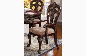Deryn Park Cherry Arm Chair Set of 2