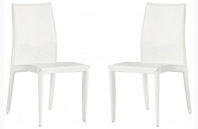 224 White Side Chair Set of 2