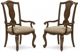 La Viera Splat Back Arm Chair Set of 2