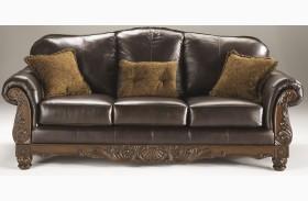 North Shore Dark Brown Sofa