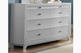 Zandra White Dresser