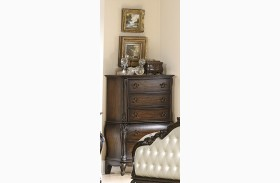Bayard Park Dark Brown Cherry Chest