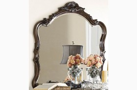 Bayard Park Dark Brown Cherry Mirror