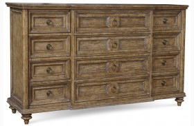 Pavilion 12 Drawer Dresser