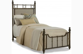 Pavilion Twin Metal Poster Bed