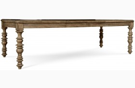 Pavilion Leg Extendable Dining Table