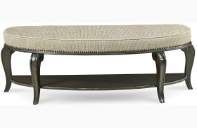 Continental Vintage Melange Bed Bench