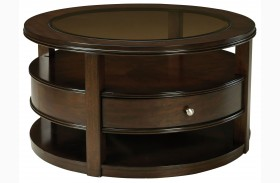 Spencer Smoky Bronze Cocktail Table