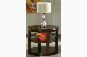 Spencer Smoky Bronze End Table
