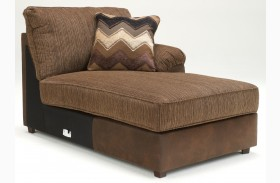 Cladio Hickory Right Arm Facing Corner Chaise