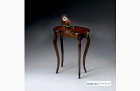 Plantation Cherry Kidney-Shaped Table