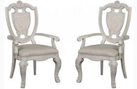 Renaissance Shield Back Arm Chair Set of 2