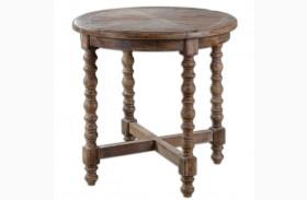 Samuelle Wooden End Table