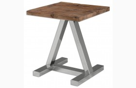 Hesperos Wooden Side Table
