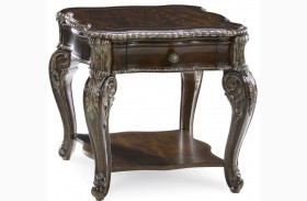 Gables 1 Drawer End Table
