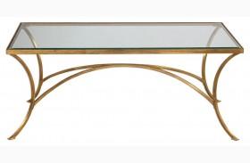 Alayna Gold Coffee Table