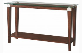 Solitaire Dark Brown Sofa Table