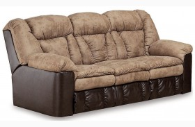 Talon Sahara Sand Double Reclining Sofa