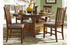 Santa Rosa Oak Extendable Pub Table