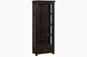 Prospect Creek Pine Tall Display Cupboard