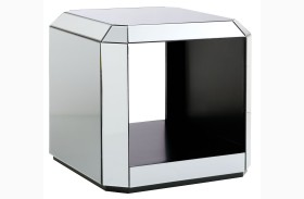 Mirage Dark Merlot End Table