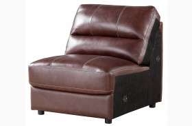 Norton Brown Armless Chair
