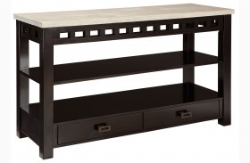 Gateway Off White Console Table