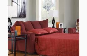 Brogain Burgundy Queen Sofa Sleeper