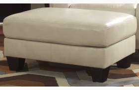 Paulie DuraBlend Taupe Ottoman
