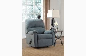 Zeth Denim Rocker Recliner