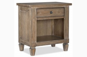 Brownstone Village Open Nightstand