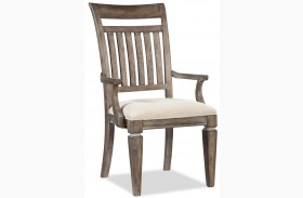 Brownstone Village Slat Back Arm Chair Set of 2