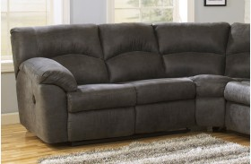 Tambo Pewter LAF Reclining Loveseat