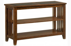 Rio Dark Brown Cherry Console Table