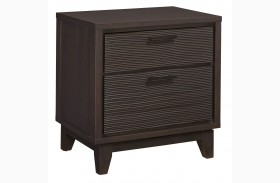 Sierra 2 Drawer Nightstand