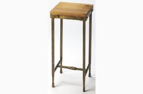 Gratton Iron & Wood Pedestal