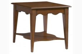 2893-30 Trea-Kincaid Treasures Rectangular End Table