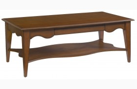 2893-33 Trea-Kincaid Treasures Rectangular Cocktail Table