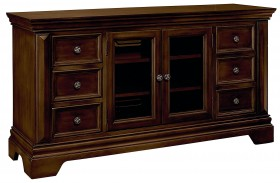 "Charleston Rich Tobacco 60"" Entertainment Console"