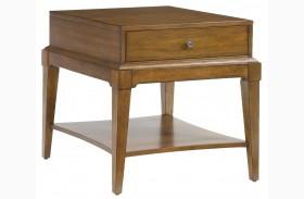 2894-30 Trea-Kincaid Treasures Rectangular End Table