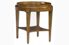 2894-34 Trea-Kincaid Treasures Round End Table