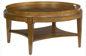 Trea-Kincaid Treasures Round Cocktail Table