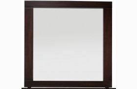 Manola Coffee Portrait Mirror