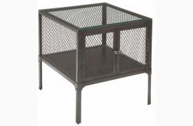 Trea-Kincaid Treasures Metal End Table