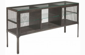 Trea-Kincaid Treasures Metal Sofa Table
